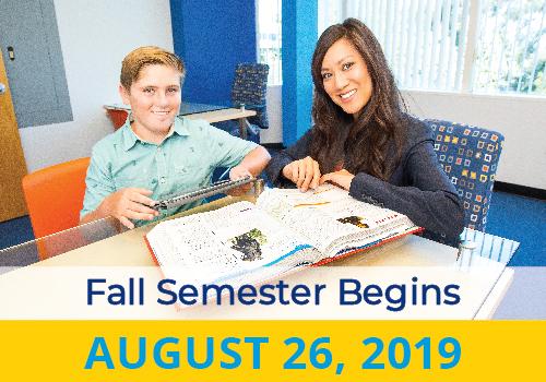 Fall Semester Begins