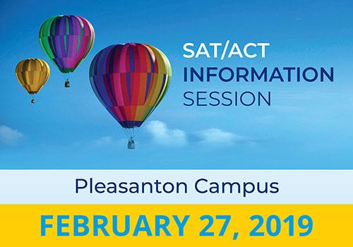 Info Session-Pleasanton 2/27